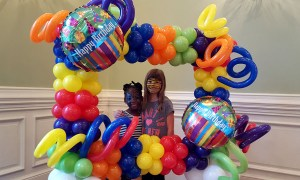 Balloon Photo Frame, by Balloonopolis, Columbia SC - Gallery