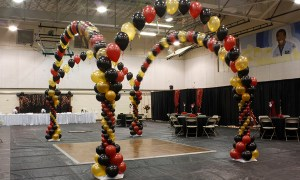 Balloon Dancefloor for Prom, by Balloonopolis, Columbia, SC