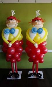 Custom Balloon Sculpture - Tweedle - Balloonopolis, Columbia, SC