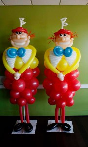 Custom Balloon Sculpture - Tweedle - Balloonopolis, Columbia, SC
