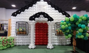 Balloon Wall for Home Show, by Balloonopolis, Columbia, SC