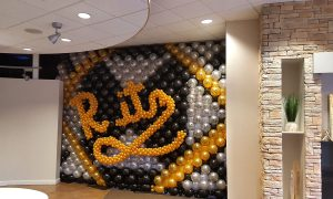 Puttin' on the Ritz, balloon wall, by Balloonopolis, Columbia, SC - Gallery