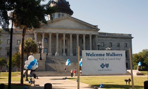BCBS walk at lunch, by Balloonopolis, Columbia, SC