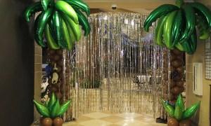 tropical balloon palm tree, by Balloonopolis, Columbia, SC