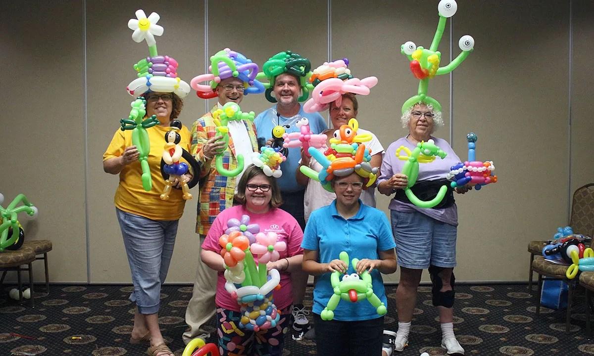Balloonopolis staff, by Balloonopolis, Columbia, SC