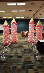 Birthday Balloon Castle, by Balloonopolis, Columbia, SC - Birthday Parties
