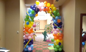 Candy Balloon Arch, by Balloonopolis, Columbia, SC - Balloon Arches