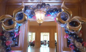 Masquerade Balloon Arch, by Balloonopolis, Columbia, SC - Balloon Arches