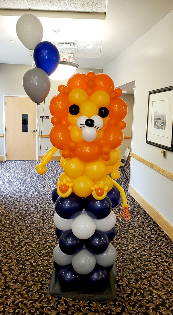 Custom balloon sculpture - Balloonopolis, Columbia, SC