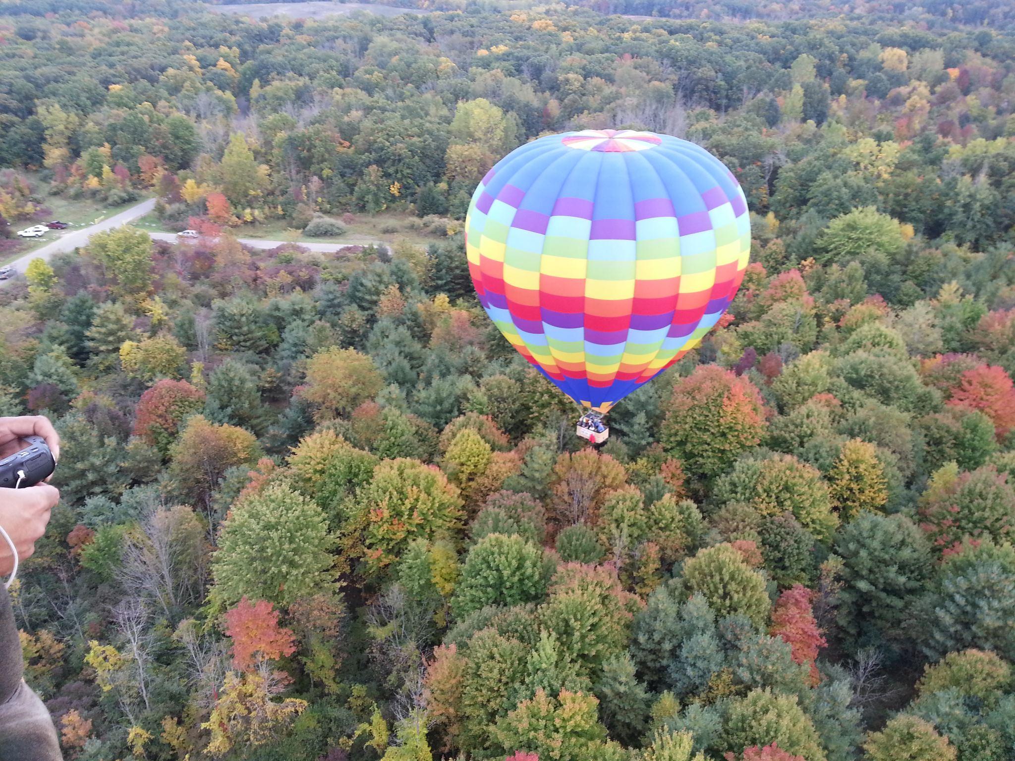 Balloon rides in Michigan