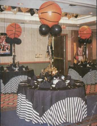 Final Four gala-themed Mitzvah