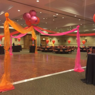 Dance Floor Canopy for Prom