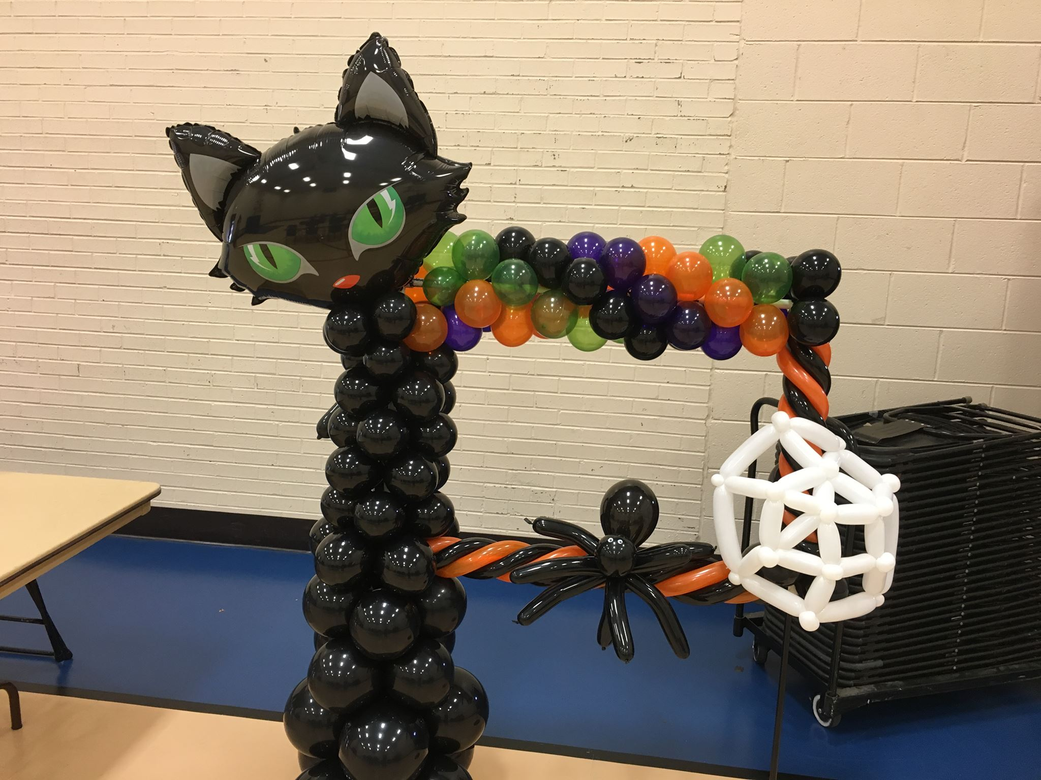 Halloween Balloon Frame