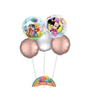 Minnie Balloon Bouquet - Winnie the Pooh Balloon Bouquet