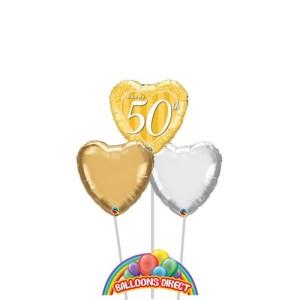 Happy 50th Anniversary Balloons