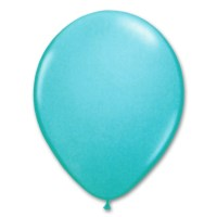 Aqua Royal Blue Latex Party Balloon 12 inch from Balloon Shop NYC