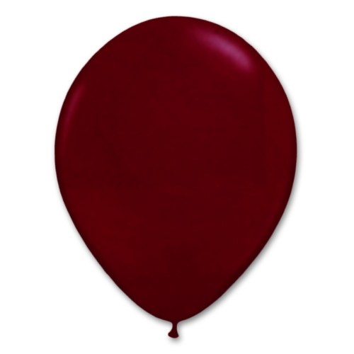 Burgundy Latex Party Balloon 12 inch from Balloon Shop NYC