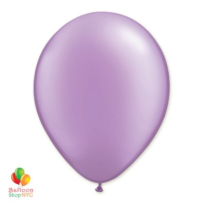 Lavender Latex Party Balloon 12 Inch delivery Balloon Shop NYC