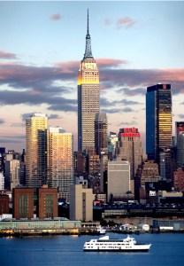 Croise around Manhattan, New Yorker-Cruise