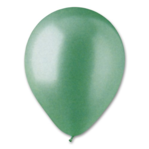 Aqua Pearl Latex Party Balloon 12 inch from Balloon Shop NYC