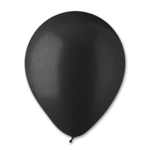 Black Pearl Latex Party Balloon 12 inch from Balloon Shop NYC