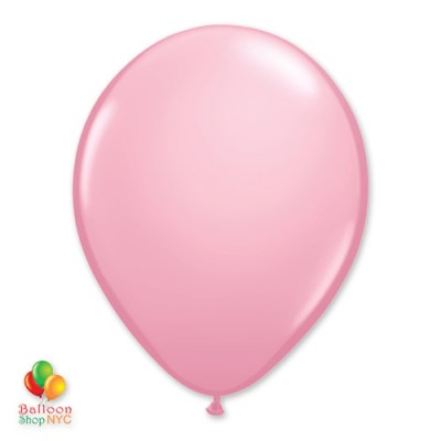 Pink Latex Party Balloon 12 inch Inflated delivery Balloon Shop NYC