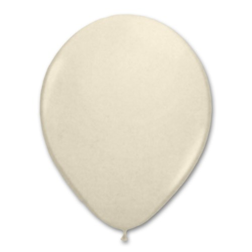 Vanilla Cream Latex Party Balloon 12 inch from Balloon Shop NYC