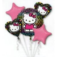 Hello Kitty Twin Birthday Balloon Bouquet from Balloon Shop NYC