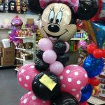 Minnie Mouse Balloons Bouquet