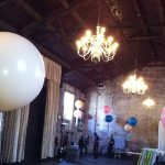 Party Decoration with 36 inch Round Balloons