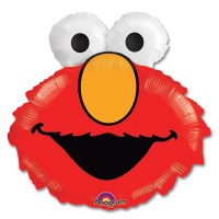 Elmo Head Mylar Party Balloon From Balloon Shop NYC