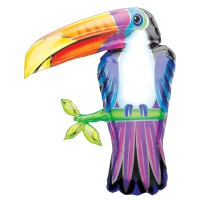 Toucan Foil Mylar Balloon from Balloon Shop NYC