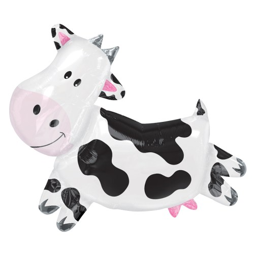 Cow Foil Mylar Balloon from Balloon Shop NYC