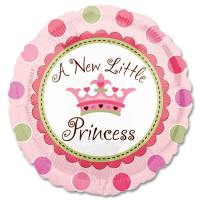A New Little Princess Mylar Party Balloon from Balloons Shop NYC