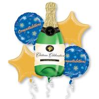 Congratulations Mylar Balloon Bouquet from Balloons Shop NYC