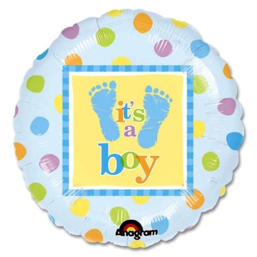 Precious Babby Boy Balloon from Balloons Shop NYC