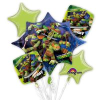 Teenage Mutant Ninja Turtles Bouquet Mylar Party Balloon Bouquet from Balloons Shop NYC