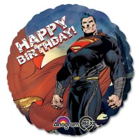 Superman Happy Birthday Mylar Balloon from Balloon Shop NYC