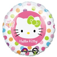 Hello Kitty Rainbow Mylar Balloon from Balloon Shop NYC