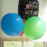 Happy Birthday Dad Mylar and Latex Balloons Bouquet