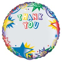 Thank You Personalized Microfoil Balloon from Balloon Shop NYC