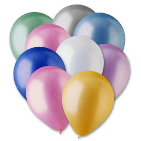Ultimate Pearl Assorted Colors Latex Party Balloons 12 inch from Balloon Shop NYC