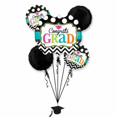 Dream Big Chevron Bouquet from Balloon Shop NYC 28582-01