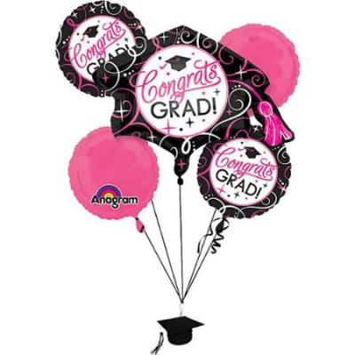 Sparkling Ggrad Balloon Bouquet from Balloons Shop NYC 30471-01