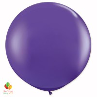 Purple Latex Party Balloon 24 inch Round Inflated delivery Balloon Shop NYC