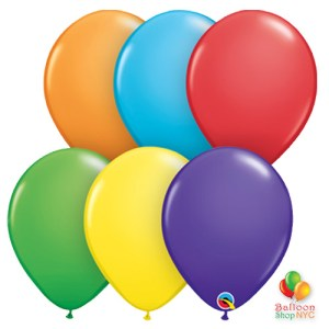 Express Order Rainbow Collection Latex Party Balloons 12 Inch Inflated High Quality Cheap Nyc