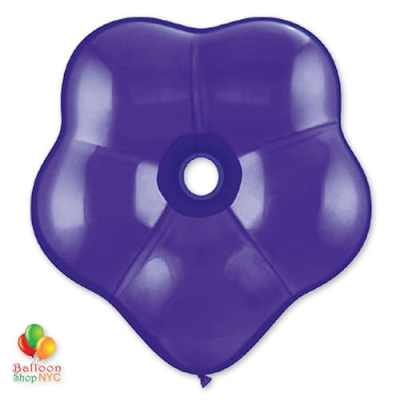Quartz Purple Geo Blossom Latex Party Balloon delivery from Balloon Shop NYC