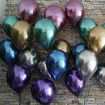 Chrome Latex Balloons Collection Order Form For Delivery From Balloon Shop NYC