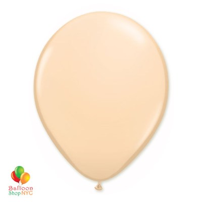 Blush Latex Party Balloon 12 Inch Inflated delivery Balloon Shop NYC