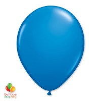 Dark Blue Latex Party Balloon 12 inch Inflated Delivery Balloon Shop NYC